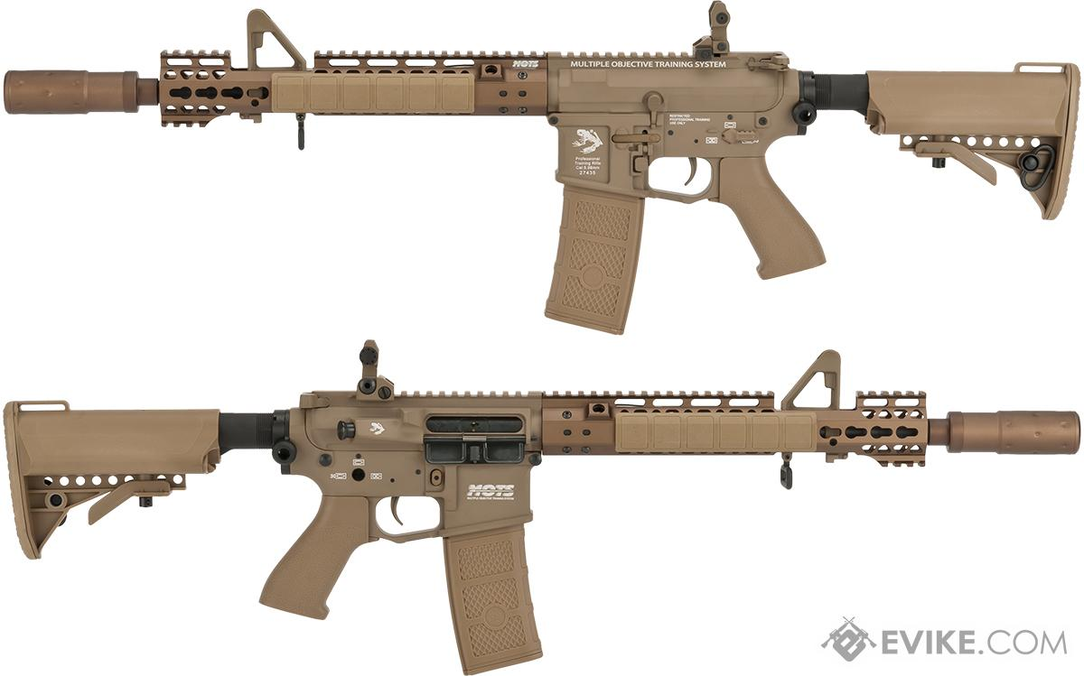 Pre-Order ETA June 2017 G&P Skull Frog AEG077 Keymod M4 Carbine Airsoft AEG Rifle (Package: Dark Earth + Add Battery/Charger)