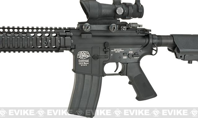 G&P V5 Airsoft M4 AEG with 12.5 RIS Handguard - Black (Package: Gun Only)
