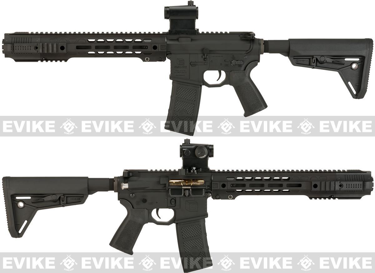 Pre-Order ETA January 2017 EMG SAI Licensed AR-15 SBR GRY M4 Airsoft AEG Training Rifle with JailBrake Muzzle Device and Red Dot - Magpul Version