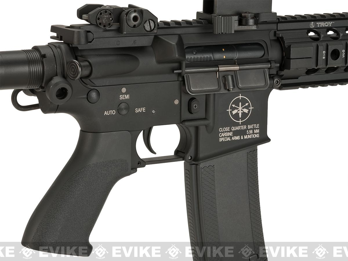 Evike Custom Madbull Licensed Troy Industries M7A1 Custom Airsoft AEG (Package: Gun Only)