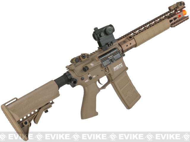 G&P Wire Cutter Keymod M4 Carbine Metal Airsoft AEG Rifle - Dark Earth (Package: Gun Only)