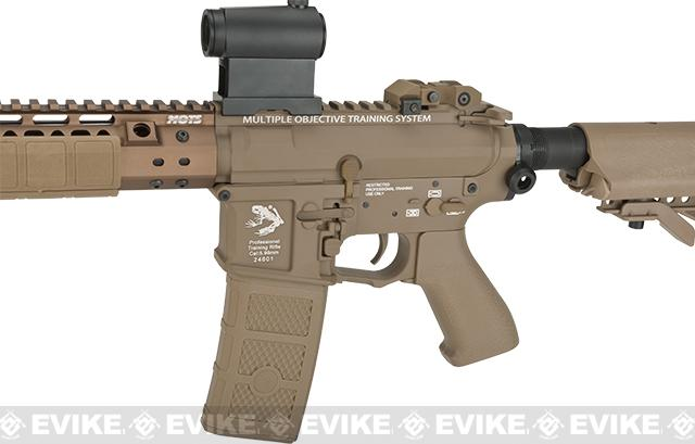 G&P Wire Cutter Keymod M4 Carbine Metal Airsoft AEG Rifle - Dark Earth (Package: Add Battery + Charger)