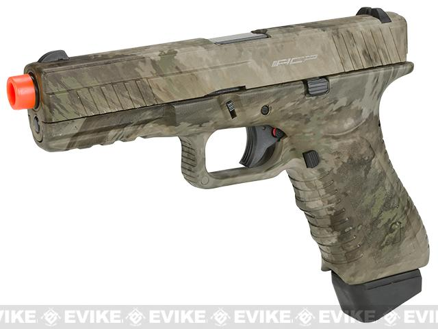 Bone Yard - APS ACP Full Metal CO2 Powered Airsoft GBB w/ Water Transfer Camo (Store Display, Non-Working Or Refurbished Models)