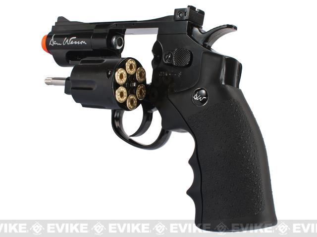 Dan Wesson CO2 2.5 High Power Airsoft 6mm Magnum Gas Revolver by ASG - Black