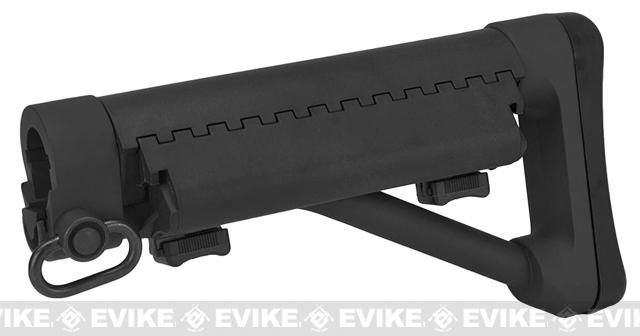G&P Shorty Maritime II Fixed Stock for M4/M16 Airsoft AEGs - Black