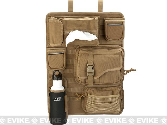 ORT 4x4 by G&P Tactical Seat-Back MOLLE  Organizer Cover - Coyote