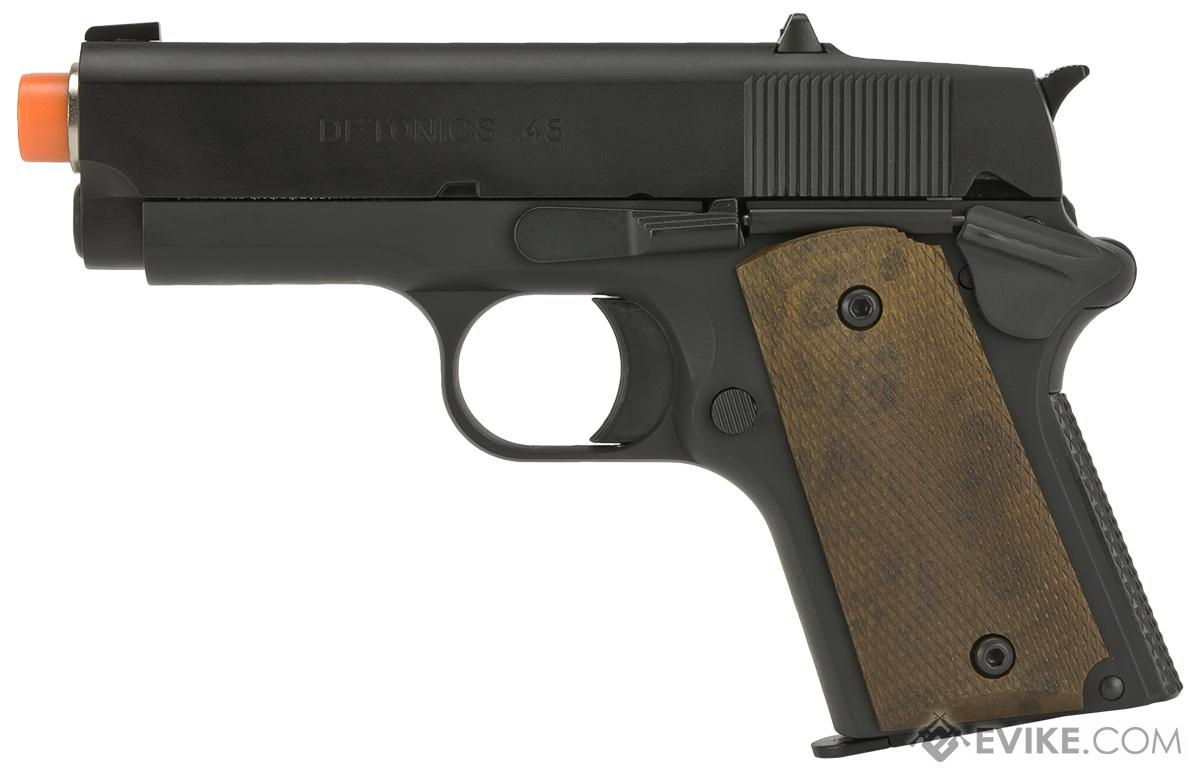 Matrix Elite Detonics 1911 .45 Combat Master Airsoft Gas Blowback Pistol (Model: Black)
