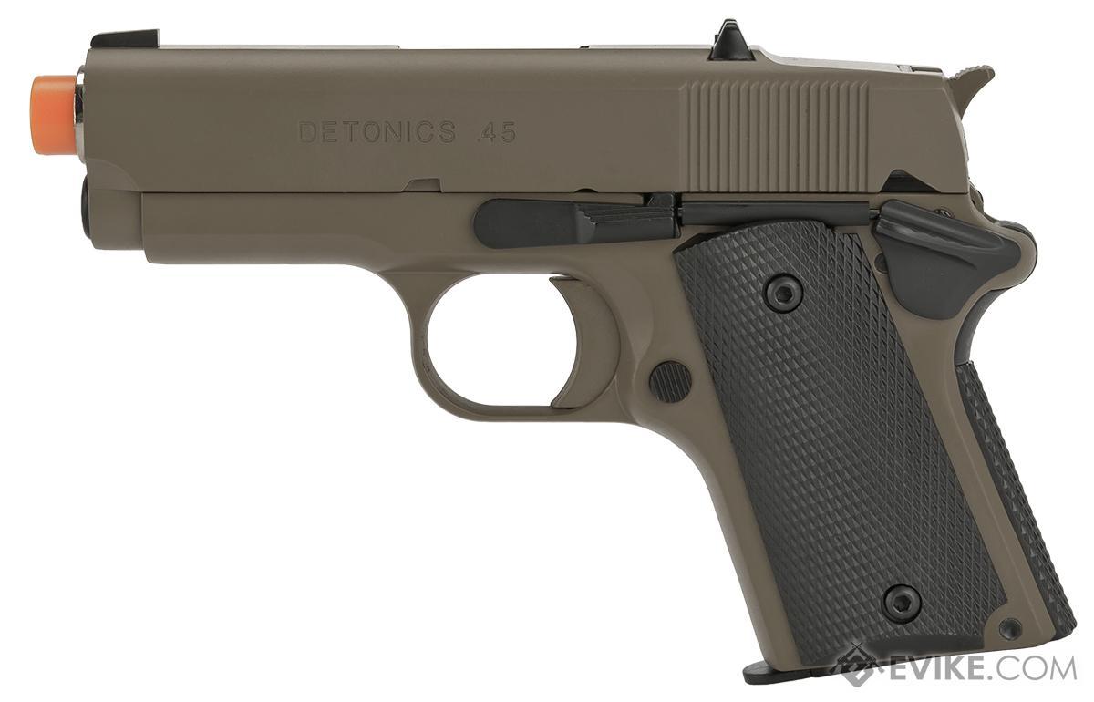 Matrix Elite Detonics 1911 .45 Combat Master Airsoft Gas Blowback Pistol (Model: Desert)