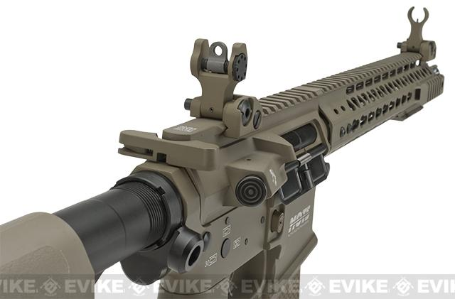 G&P FRS MOTS Keymod M4 Carbine Airsoft Electric Recoil AEG Rifle - Dark Earth (Package: Gun Only)