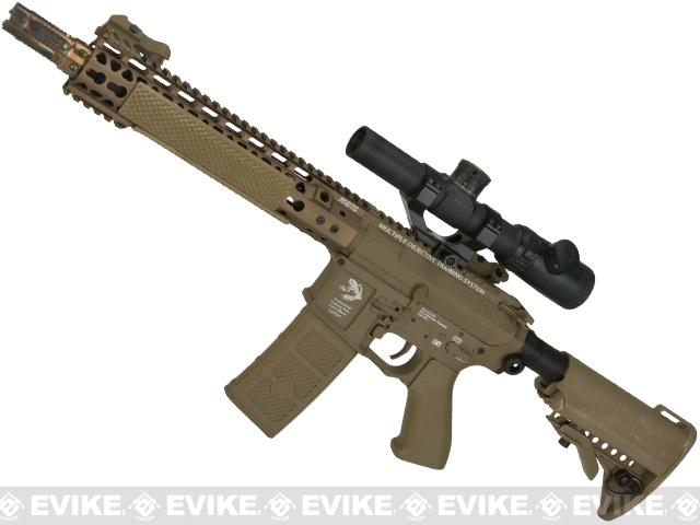 G&P FRS Keymod M4 Carbine Airsoft Electric Recoil AEG Rifle  (Package: Dark Earth / Add Battery + Charger)