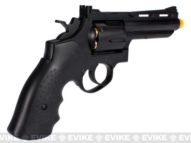 HFC 4 Bull Barrel Savage Bull Full Size Airsoft Gas Revolver - Black