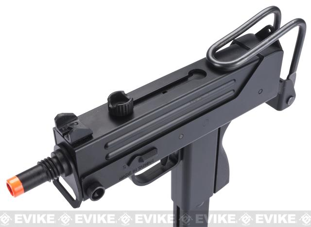 HFC Full Auto M11A1 / Mac 11 Airsoft Gas Blowback Submachine Gun w/ Mock Silencer