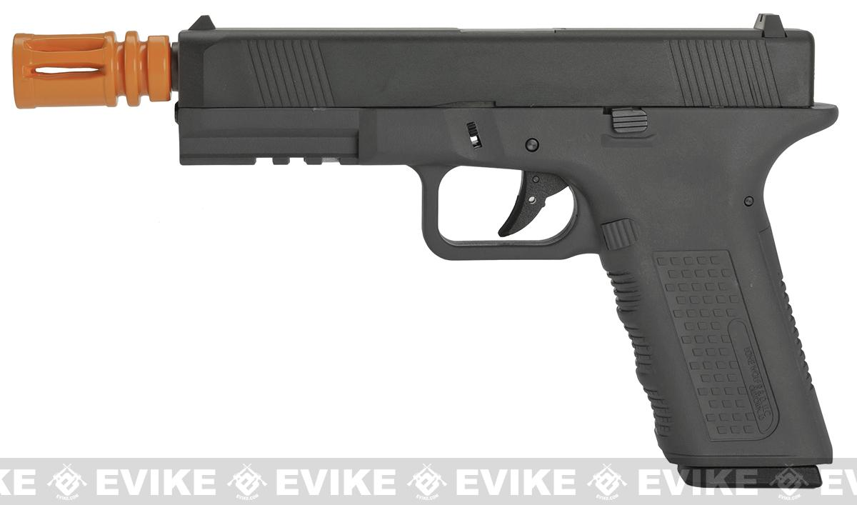 Lone Wolf Licensed Gen 2 Full Metal Timberwolf Airsoft GBB Pistol by Echo1 - Black
