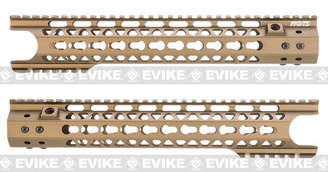 G&P MOTS 12.5 Keymod Breacher Rail System for M4 / M16 Series Airsoft Rifles - Bronze