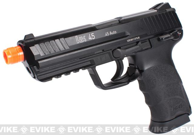 Heckler & Koch Full Metal HK45 Airsoft GBB Pistol by KWA