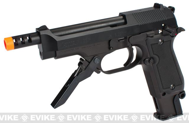 Pre-Order ETA August 2015 KWA NS2 M93R 3-Round Burst PTP Airsoft Gas Blowback (New Metal Slide & Frame Version)