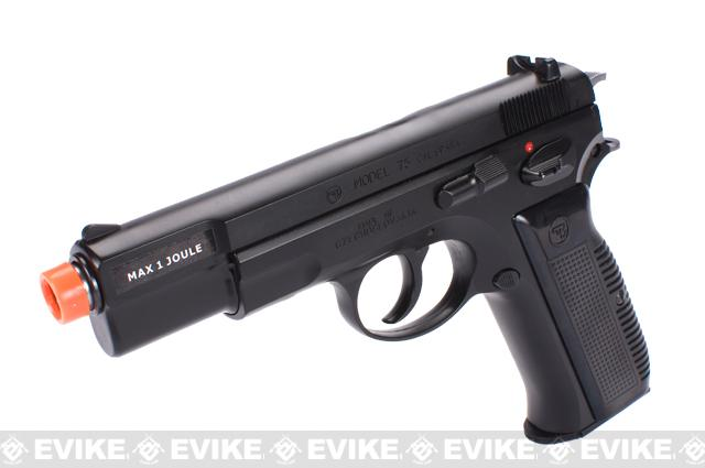 ASG Licensed CZ75 Maxi Shell Ejecting Airsoft Gas Blowback Pistol by Marushin
