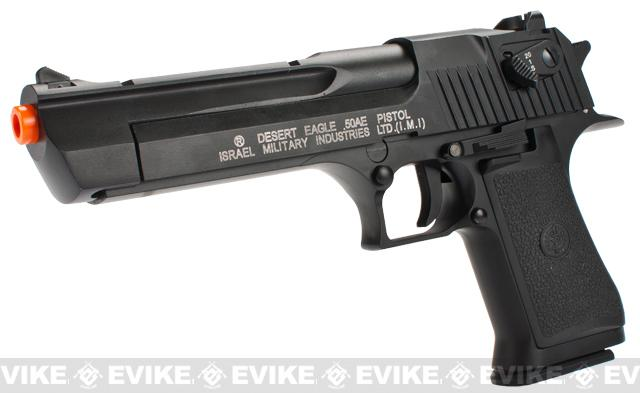 KWC IMI Licensed Desert Eagle Full-Auto CO2 Airsoft GBB Pistol