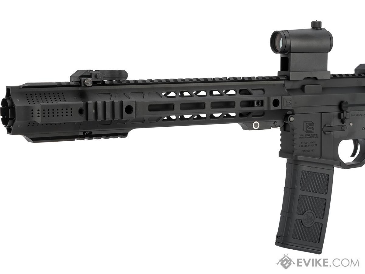 EMG / SAI GRY AR-15 AEG Training Rifle w/ JailBrake Muzzle (Configuration: SBR / Black Non-ITAR Furniture)