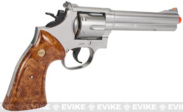 UHC UG 135 6 Gas Revolver w/ Shell Set (Silver)