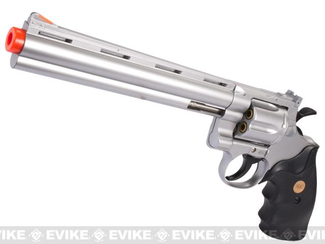 UHC / TSD Heavy Weight 8 Airsoft Gas Revolver - Silver / Black