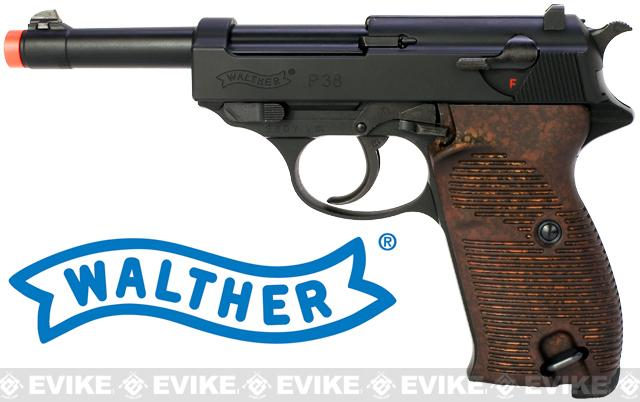 z Umarex Licensed Walther P38 Gas Blowback Airsoft Pistol Manufactured by Maruzen