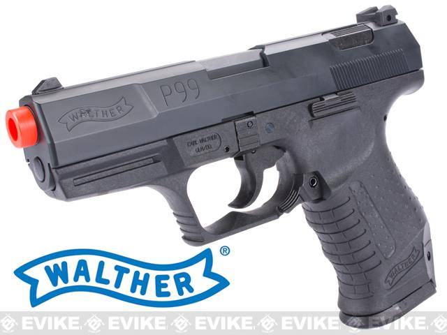 Bone Yard - Maruzen Walther Licensed P99 Airsoft GBB Gas Blowback Pistol by Elite Force / Umarex (Store Display, Non-Working Or Refurbished Models)