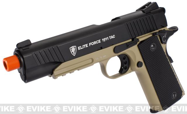 Elite Force Full Metal 1911 Tactical CO2 Airsoft Gas Blowback Pistol Umarex KWC