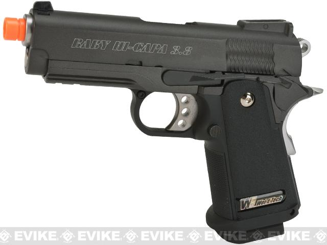 WE-USA NG3 Full Metal 3.8 Inch 2011 Hi-Capa Airsoft Gas Blowback Pistol - Bravo