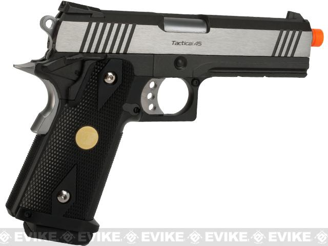 WE-USA NG3 Dual Tone Hi-CAPA 4.3 2011 Full Metal Airsoft Gas Blowback Pistol