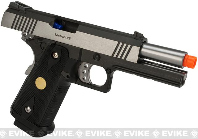 WE-Tech Dual Tone Hi-CAPA 4.3 2011 Full Metal Airsoft Gas Blowback Pistol