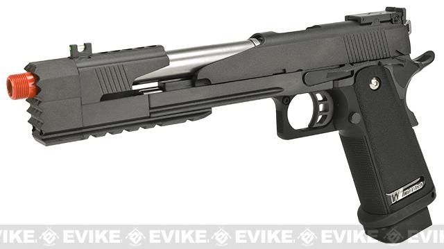 WE-Tech Xcelerator 7 Gas Blowback Pistol - Black