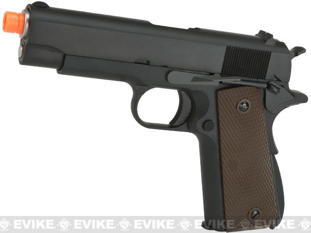 WE-USA Full Metal 1911 Commander Length Compact Airsoft GBB Pistol