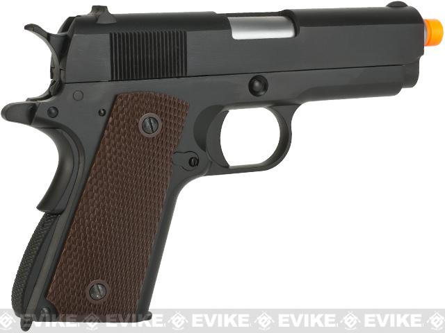 WE-USA Full Metal 1911 Officer Compact GBB Airsoft Gas Blowback Hand Gun