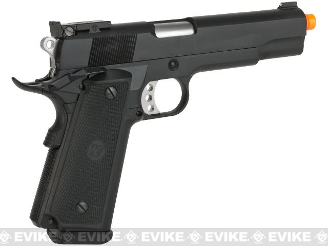 WE-USA Full Metal P14 Hi-CAPA 5.1 Airsoft Gas Blowback Pistol (Co2 Mag)