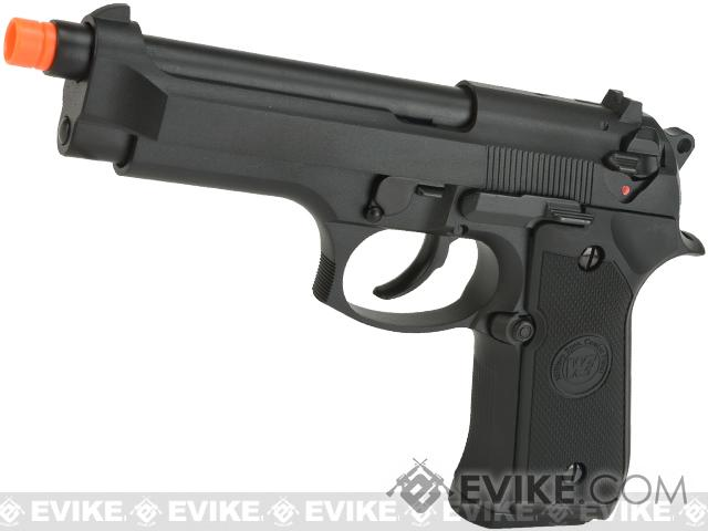 WE-USA NG3 Full Metal M9 Heavy Weight Airsoft GBB Professional Training Pistol - Black