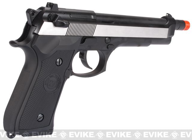 z WE-Tech High Power Elite M9 PTP Airsoft GBB Pistol - Two-Tone