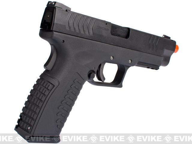 WE-Tech Full Metal Extreme Tactical DM40 Airsoft GBB Gas Blowback Pistol