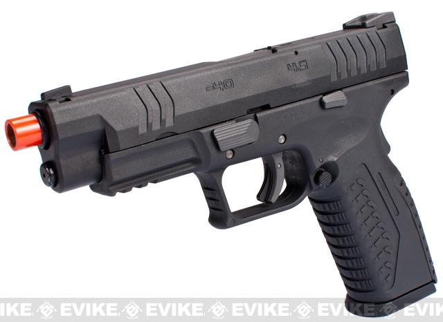 Pre-Order ETA July 2016 WE-Tech Full Metal Extreme Tactical DM40 Airsoft GBB Gas Blowback Pistol
