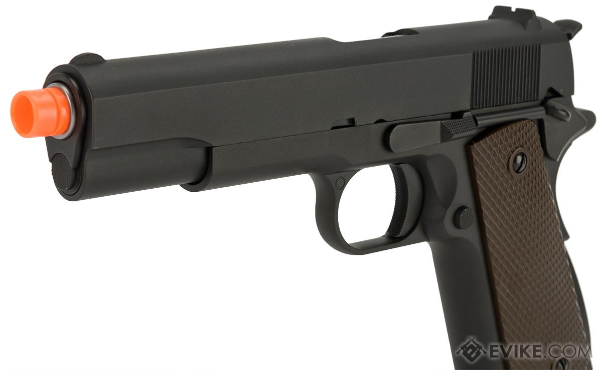 WE-Tech Full Metal 1911 GI Full Size Airsoft GBB Pistol
