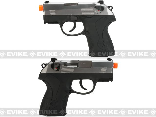 Bulldog Compact Airsoft Gas Blowback GBB Pistol by WE - Chrome