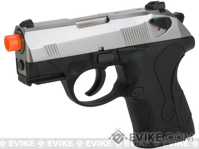 Pre-Order ETA July 2016 Bulldog Compact Airsoft Gas Blowback GBB Pistol by WE - Chrome