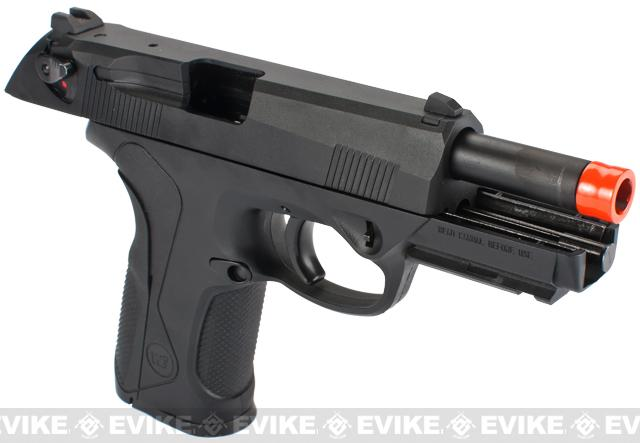 Pre-Order ETA October 2016 Bulldog Full Size Airsoft Gas Blowback GBB Pistol by WE - Black