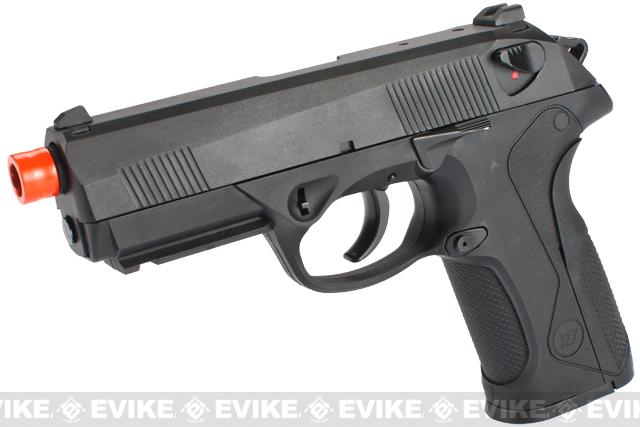 Bulldog Full Size Airsoft Gas Blowback GBB Pistol by WE - Black
