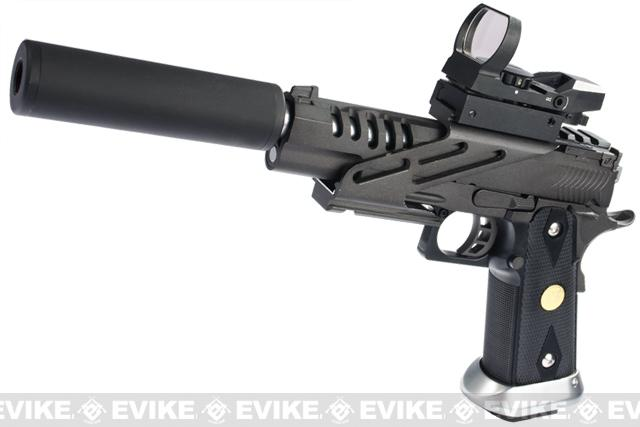 Pre-Order ETA July 2016 Evike.com Custom ZOMBIE KILLER Hyper Speed HI-CAPA Full Metal Airsoft Gas Blowback