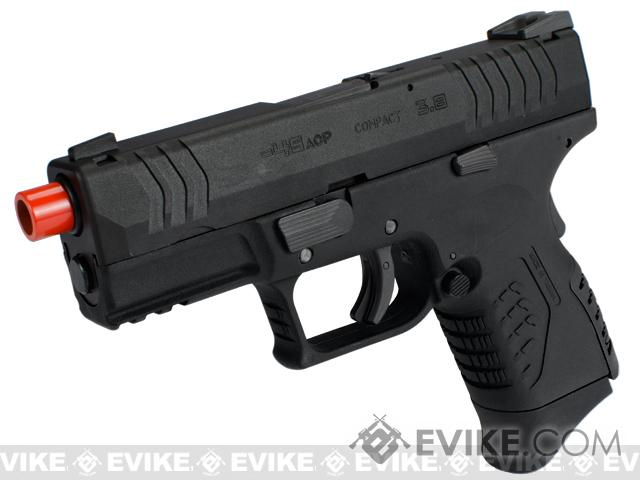 WE-Tech DM 3.8 Compact Airsoft GBB Pistol (Color: Black)