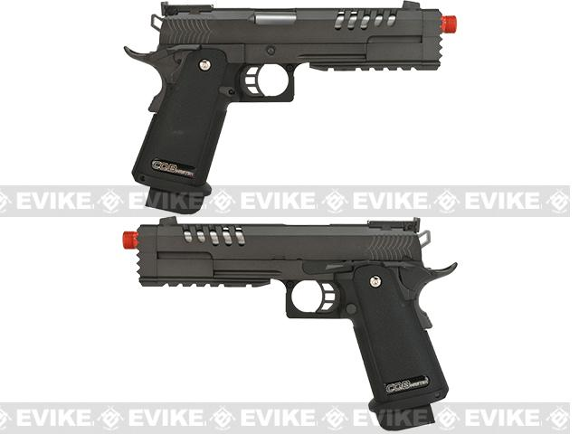 WE USA Hyperstrike Gas Blowback Pistol w/ NG3 System - Black