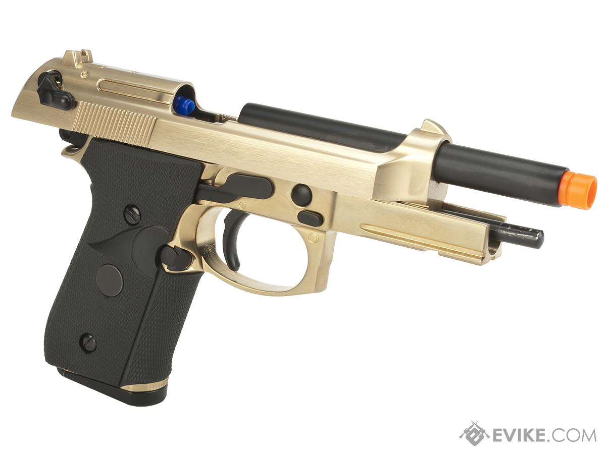 WE-Tech M9A1 S.O.C. Special Edition Gas Blowback Pistol - Gold