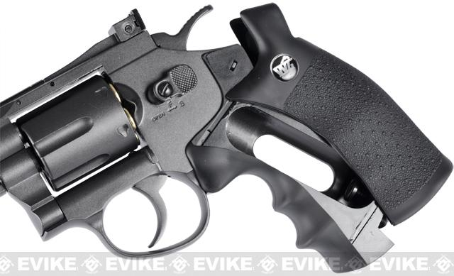 WinGun Full Metal 2 Airsoft CO2 Gas Non-Blowback Revolver - (Chrome)