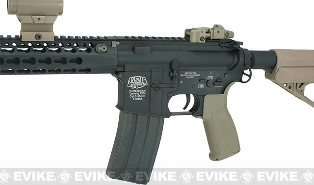 Evike.com Class I Custom Templar Mid-Length Airsoft AEG with 15 KeyMod RIS - Dark Earth
